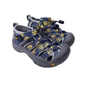 Keen Newport H2 Blue Yellow Water Shoes Sandals 8
